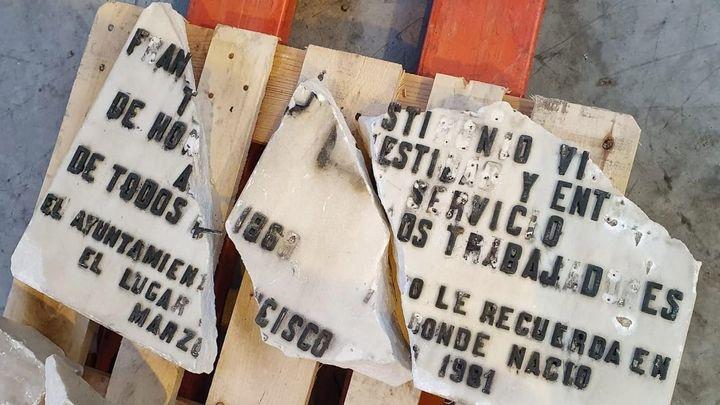 El Ayuntamiento de Madrid tendrá que retirar las placas de Prieto y Largo Caballero por orden del TSJM