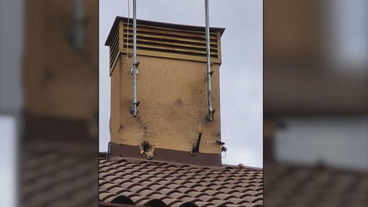 Un rayo impacta contra la vivienda de una vecina de Fuente el Saz