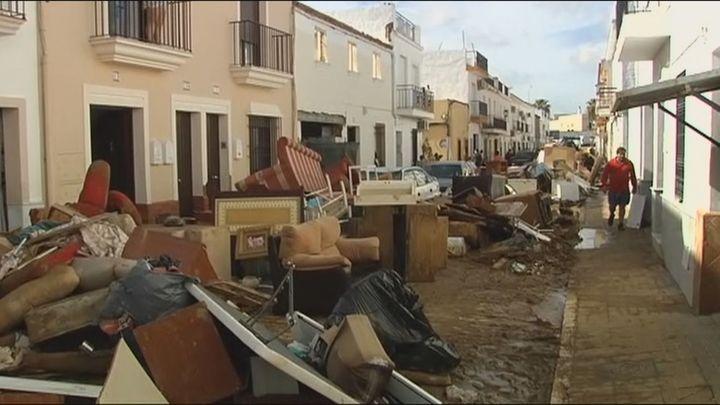 Madrid no espera unas tormentas tan fuertes como las que han asolado Lepe, en Huelva
