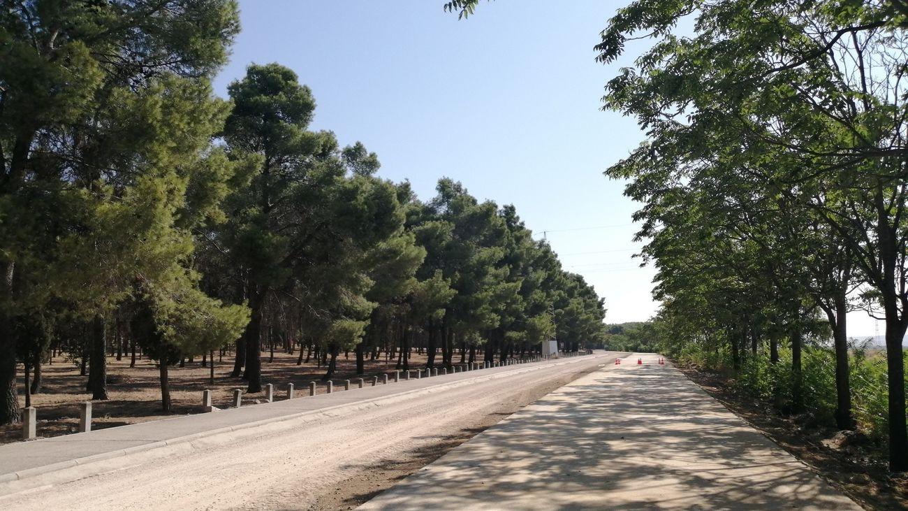 Getafe reabre este domingo la carretera del Cerro de los Ángeles