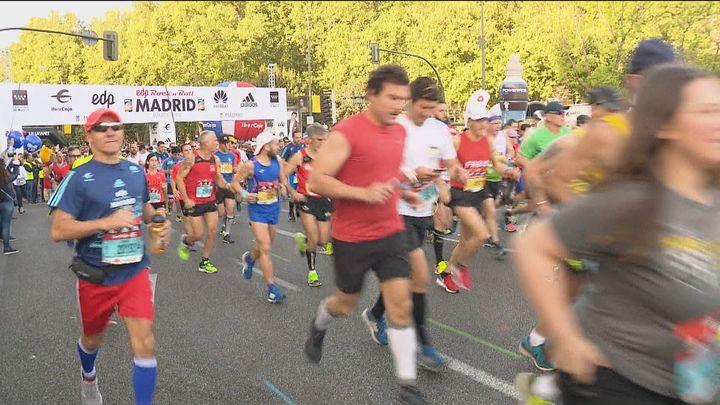 Cortes de tráfico y cambios de recorrido en 115 líneas de la EMT por el Maratón de Madrid