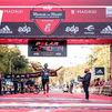 Los etíopes Abdela Godana y Kasu Lemeneh conquistan el Maratón de Madrid