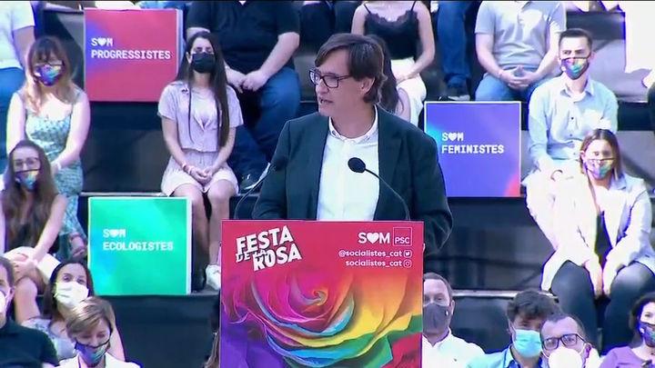 """El PSC mantiene su apuesta por un diálogo y avisa a Puigdemont que """"en Cataluña no se va a romper"""""""