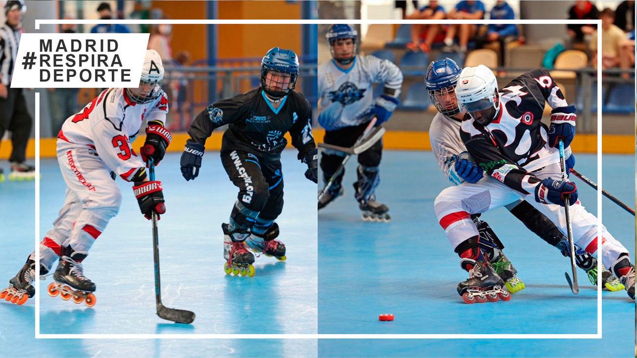 Tres Cantos, subcampeón masculino y femenino de la Supercopa de hockey línea