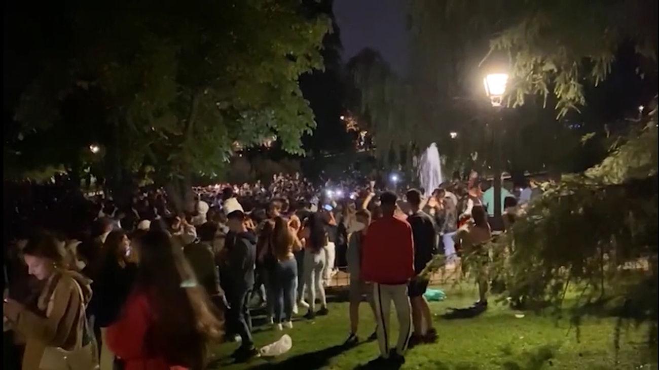 Bajan las multas por botellón en Madrid este fin de semana