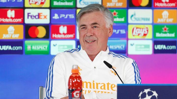 """Ancelotti: """"Tenemos una pequeña ventaja para ganar la Champions"""""""