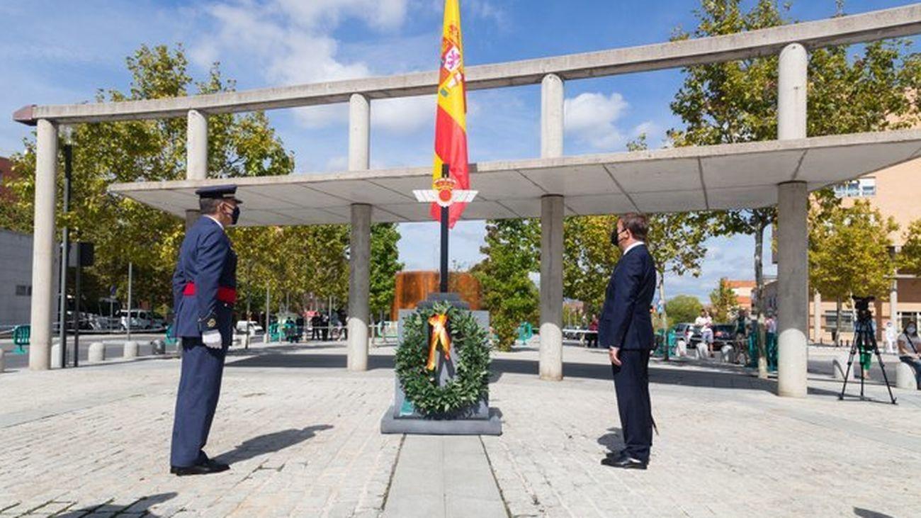 Tres Cantos rinde homenaje a los militares y civiles que participaron en la misión de Afganistán