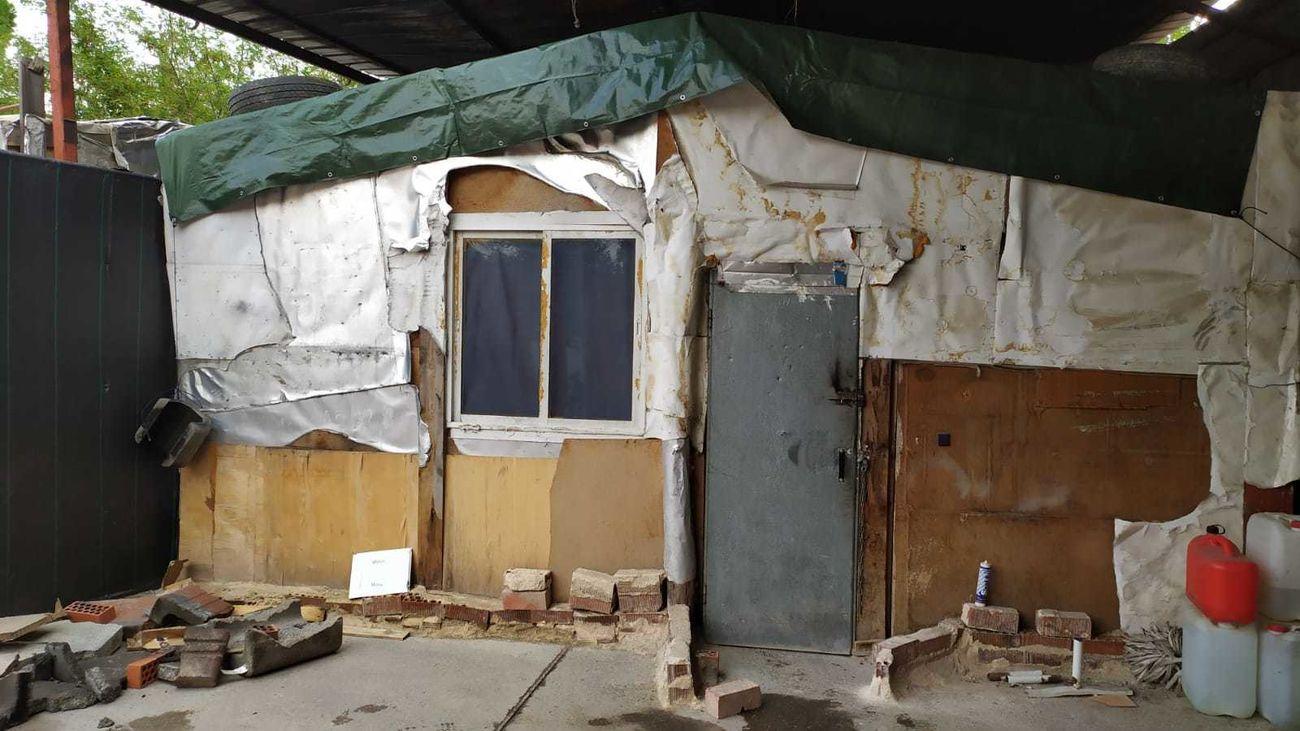 La Policía de Móstoles desmantela en Las Sabinas un cultivo de marihuana