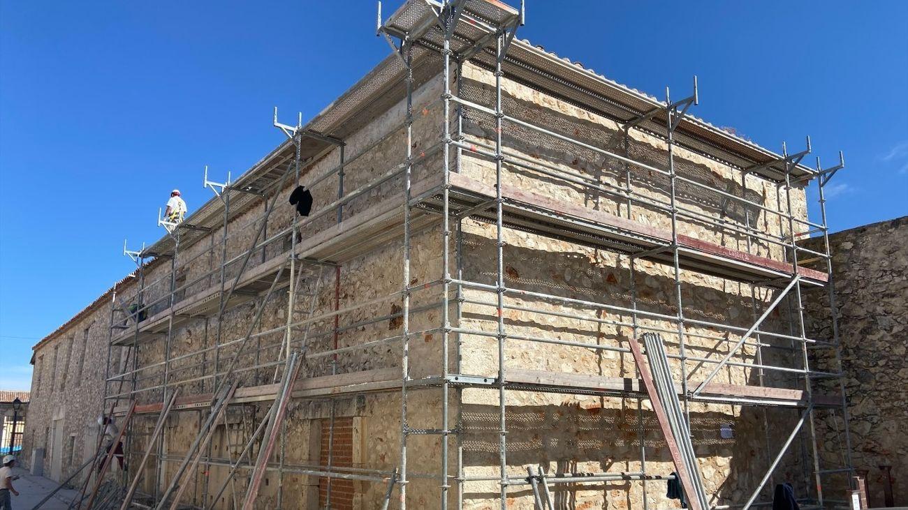 La Comunidad de Madrid invierte en el Casco Histórico de Nuevo Baztán