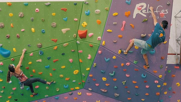 Manzanares, escuela de escaladores, cuenta con nuevo rocódromo