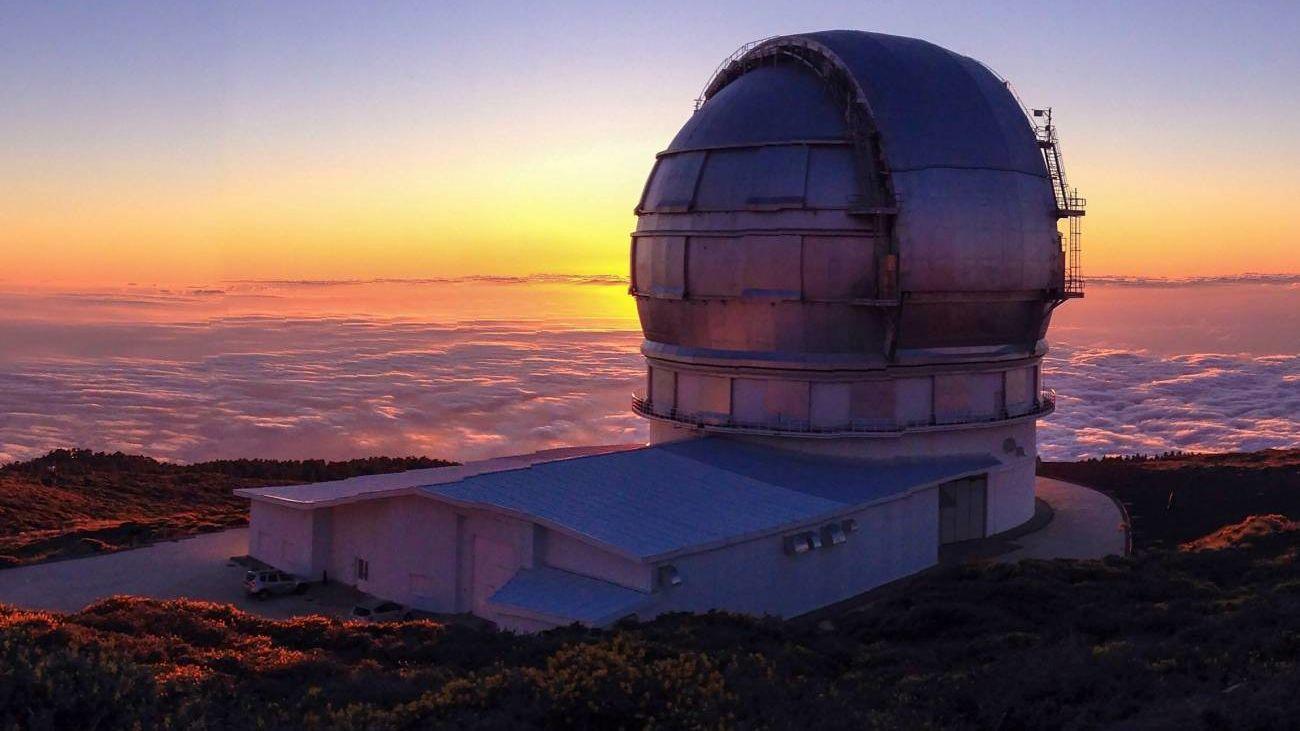 Cierra el observatorio astronómico de La Palma por la actividad del volcán