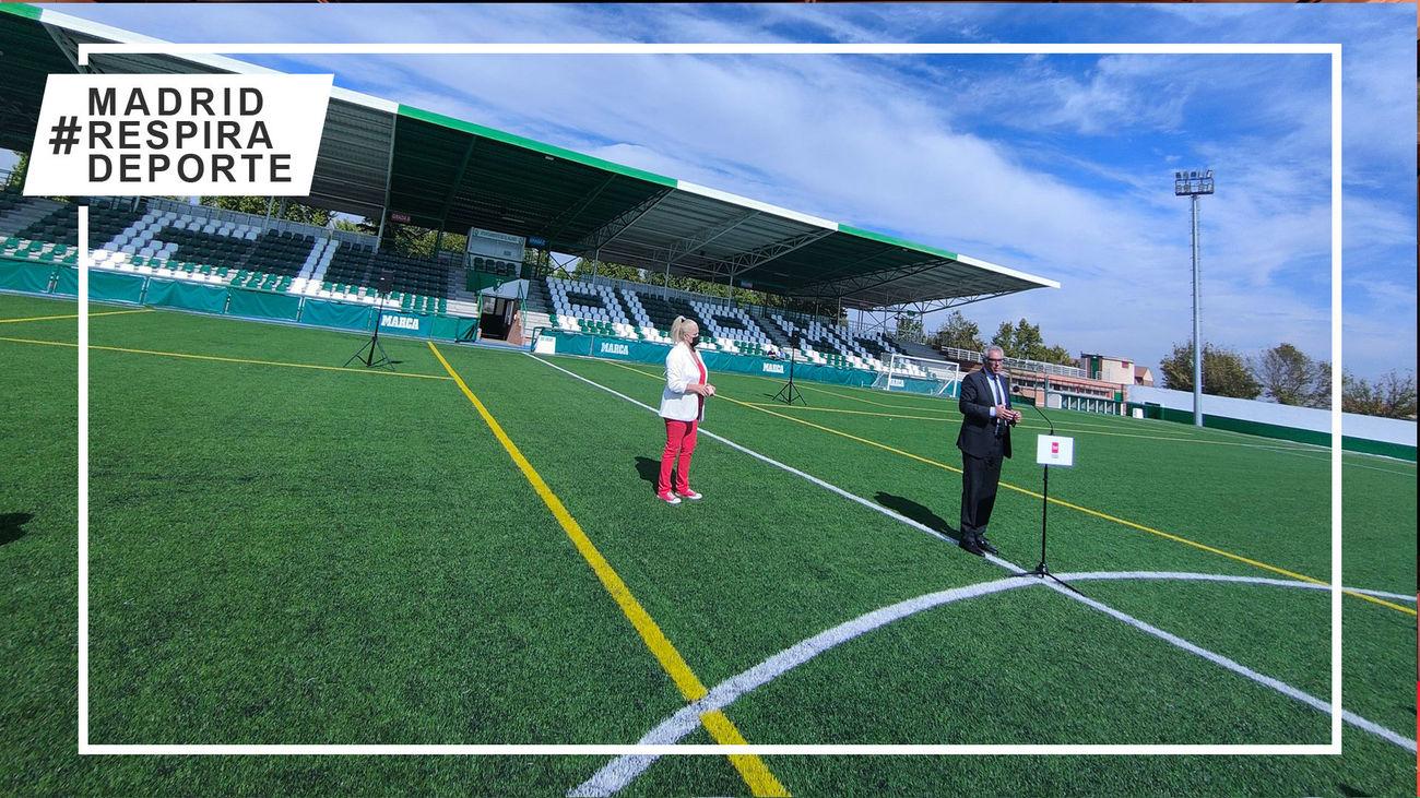 El Álamo estrena el 'nuevo' Estadio Municipal Facundo Rivas Pérez