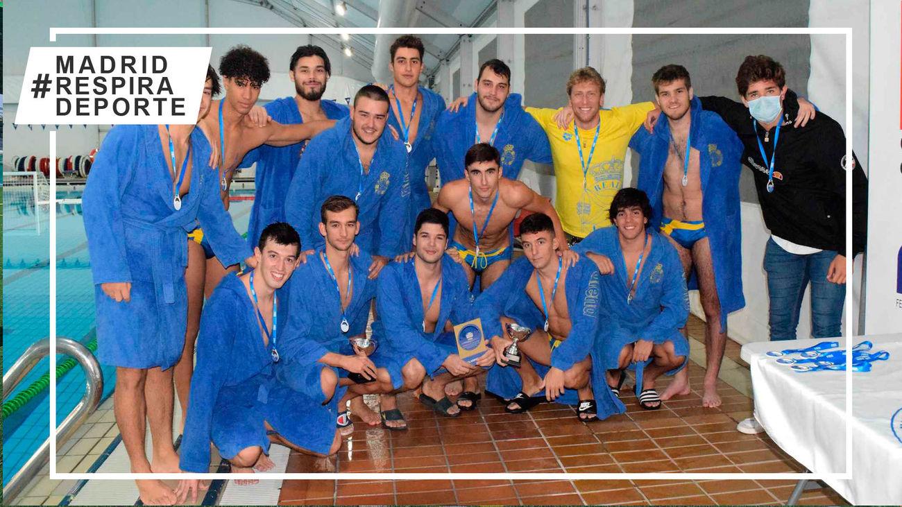 El Real Canoe, campeón de Madrid  de waterpolo