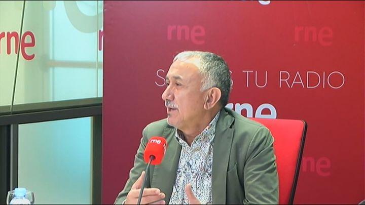 """José María Álvarez (UGT) sobre la subida del SMI: """"es una mierda"""""""
