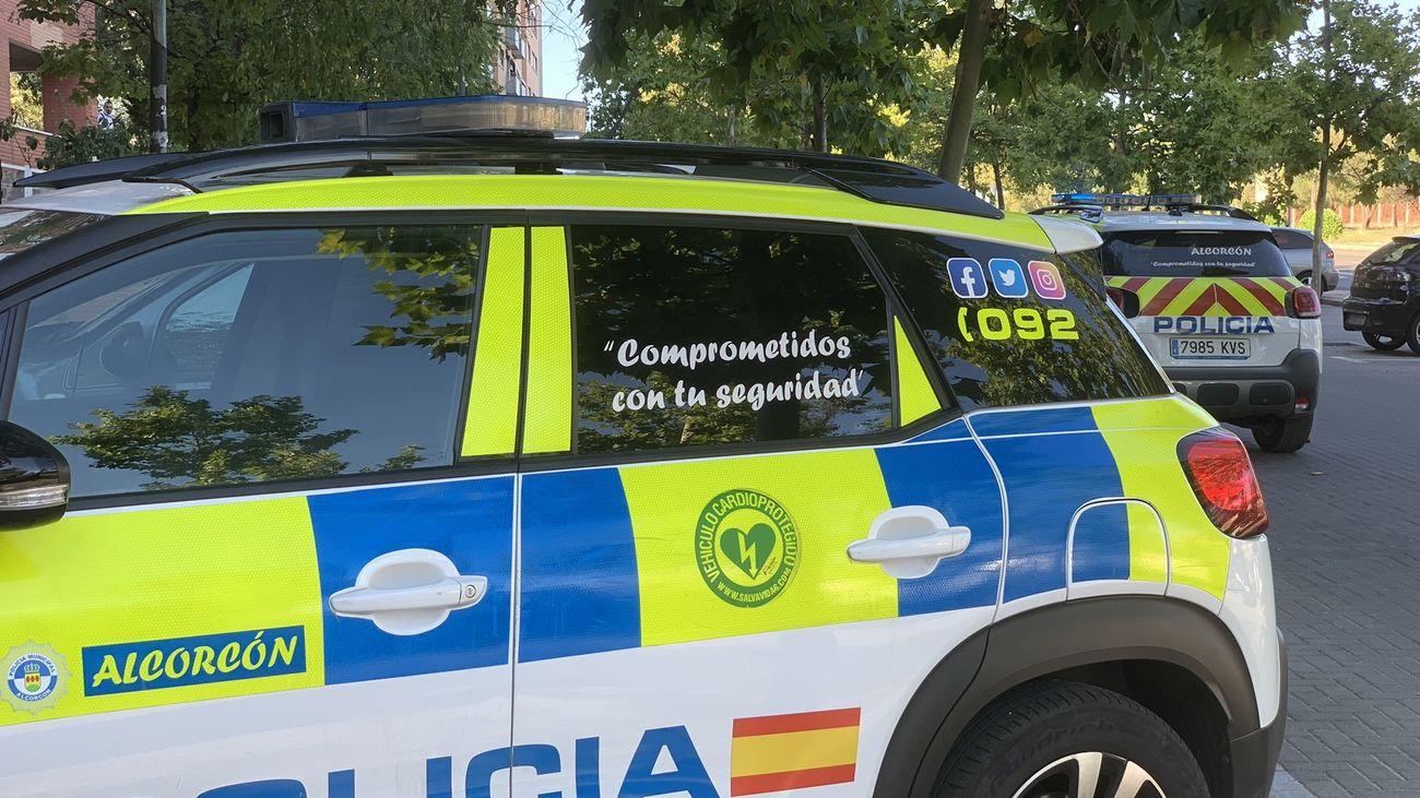 Detienen en Alcorcón a un hombre acusado de agredir a su mujer y a su hijo menor