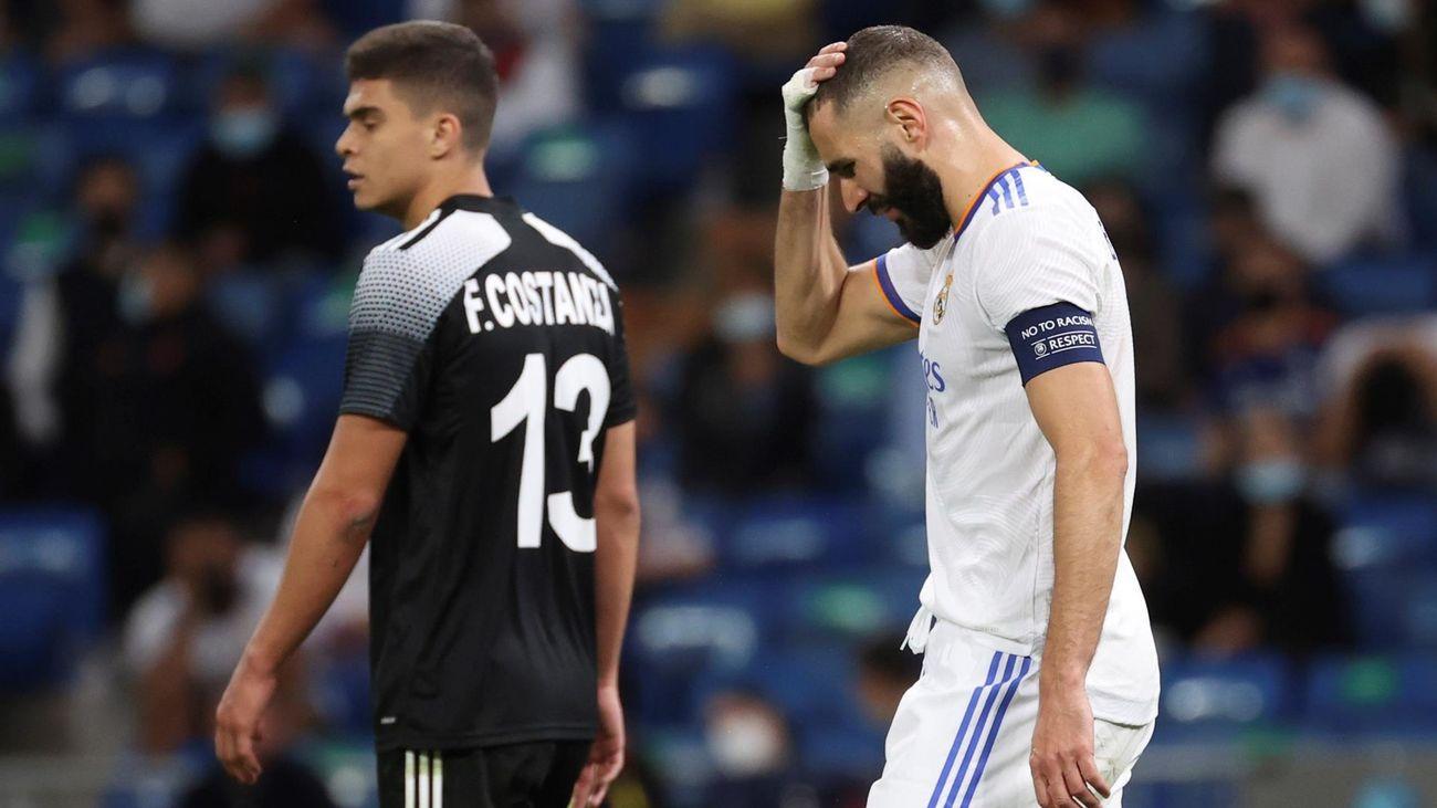 El Real Madrid se queda en evidencia en Europa