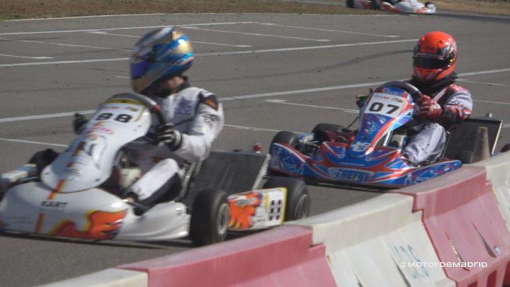 Emocionantes carreras del CMK en el Circuito de Corral de Calatrava