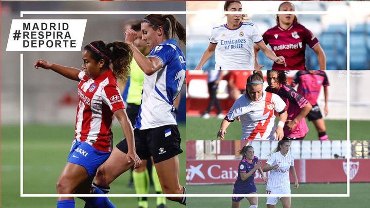 El Atleti de dulce, el Real Madrid en crisis y empates del Madrid CFF y Rayo