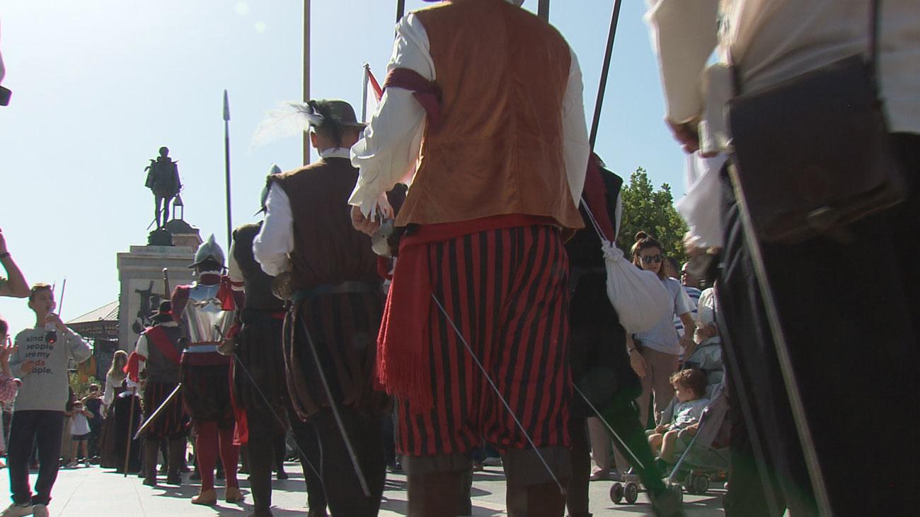 Alcalá se convierte en un campamento de la batalla de Lepanto