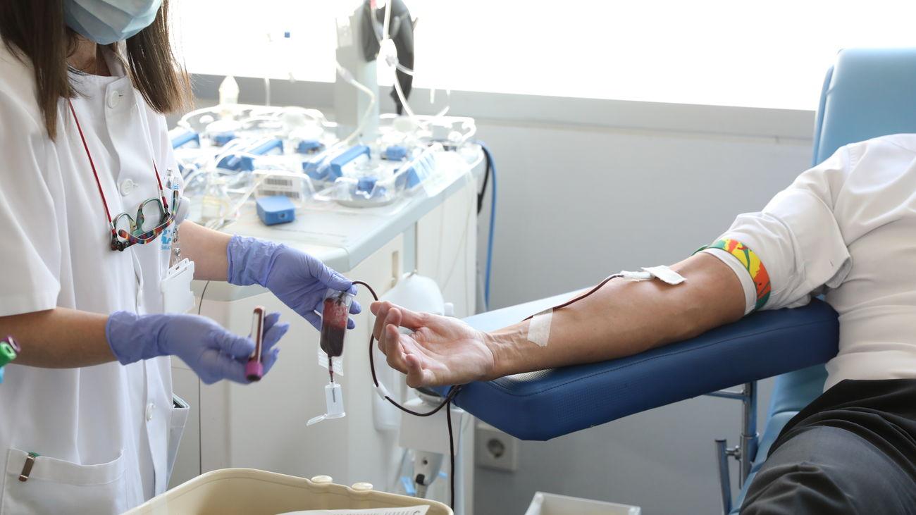 El grupo sanguíneo O- necesita donaciones urgentes en Madrid