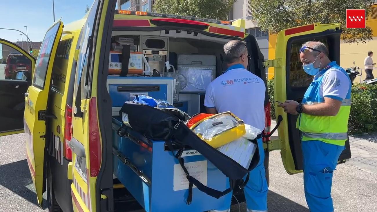 Herido grave un carnicero de Las Tablas tras cortarse en una pierna con una máquina