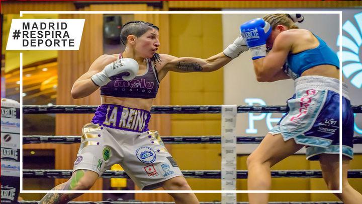 Miriam Gutiérrez, boxeadora y concejal de Torrejón, vuelve a subirse al ring