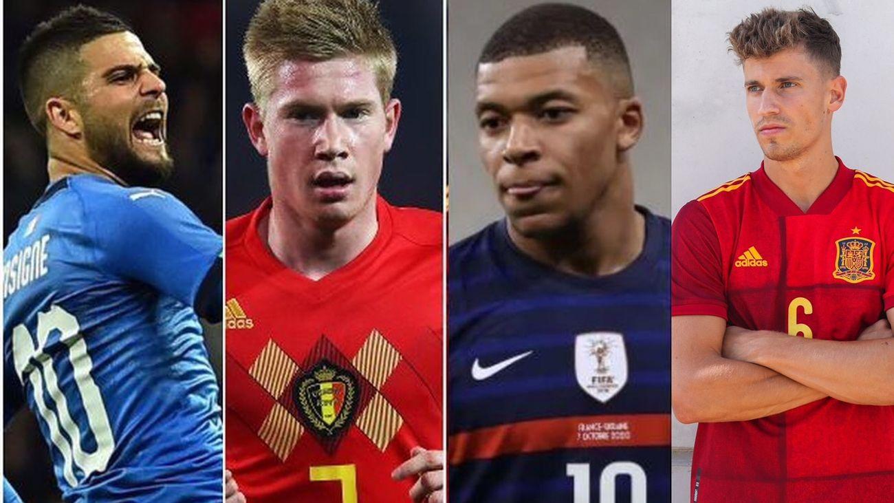 España, Italia, Francia y Bélgica lucharán por la Liga de las Naciones