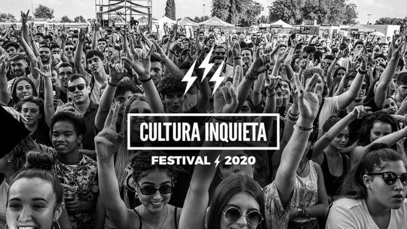 """La organización del Festival Cultura Inquieta de Getafe lo suspende """"por la situación sanitaria"""""""
