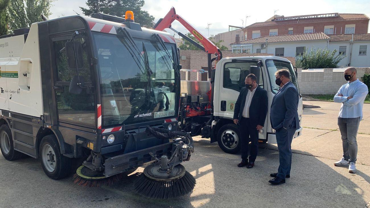 Serranillos del Valle renueva sus vehículos municipales