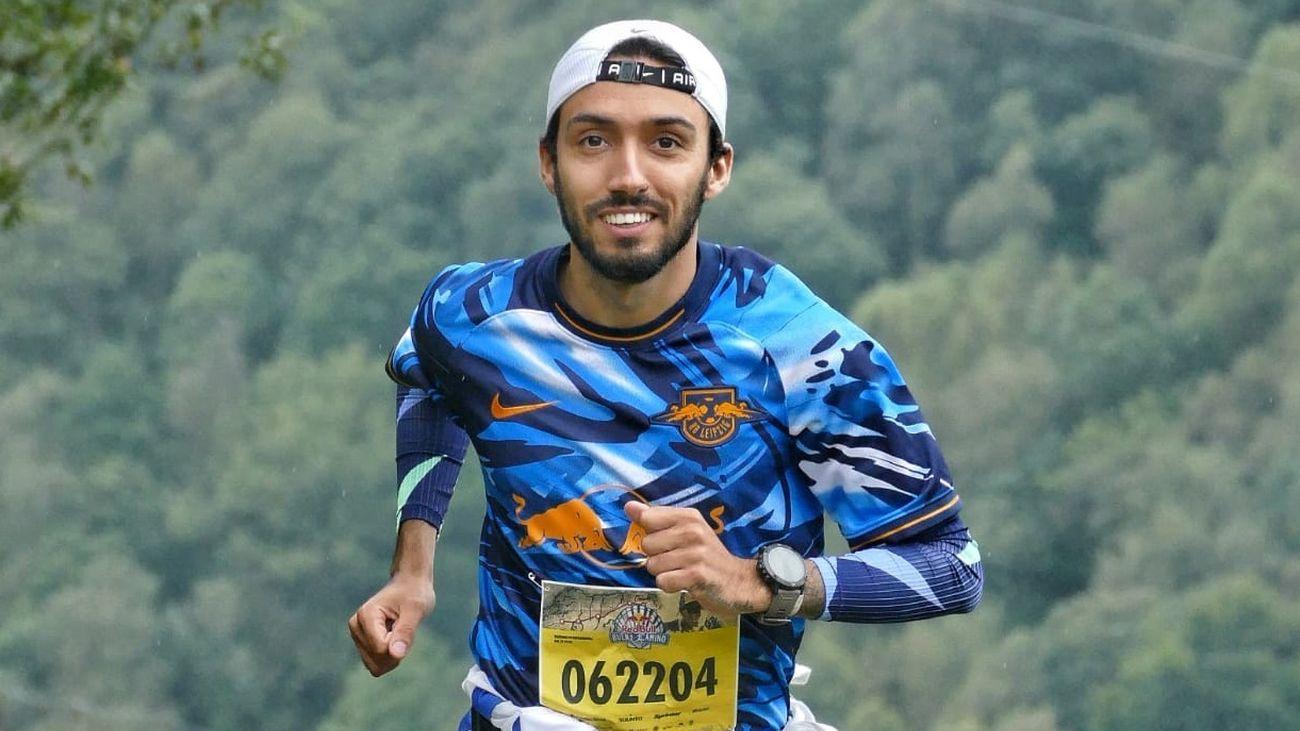 Fernando Carro, 'peregrino' en el Camino de Santiago