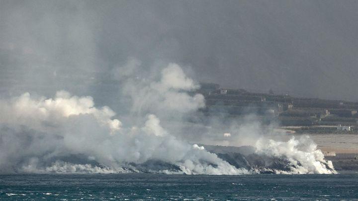 La calidad del aire de La Palma empeora, pero los vientos alisios ayudan a alejar los gases tóxicos
