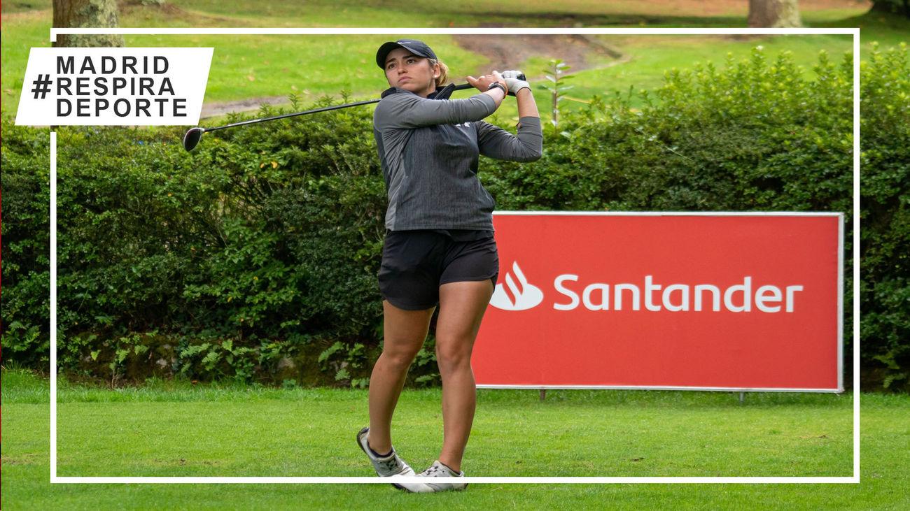 Clara Moyano firma una victoria histórica en el golf español