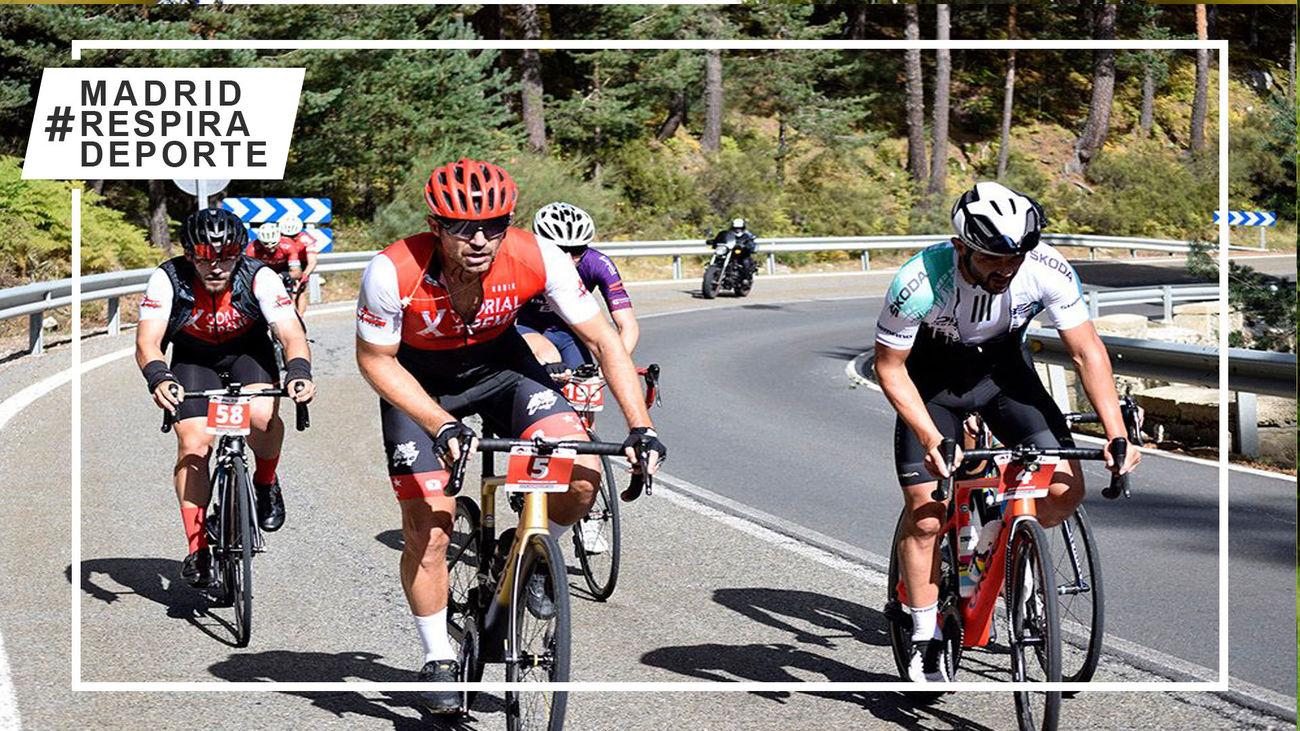 Los cicloturistas disfrutaron del homenaje a Cubino en la Xcorial Xtreme