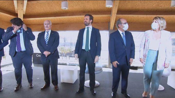 Casado pide a Sánchez que siga al Supremo en la petición de entrega de Puigdemont