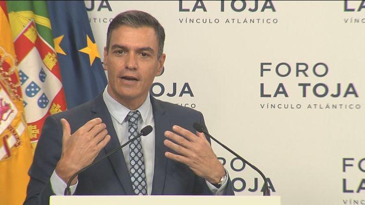 """Sánchez propone una """"compra conjunta de gas en Europa"""" para tener una reserva estratégica"""