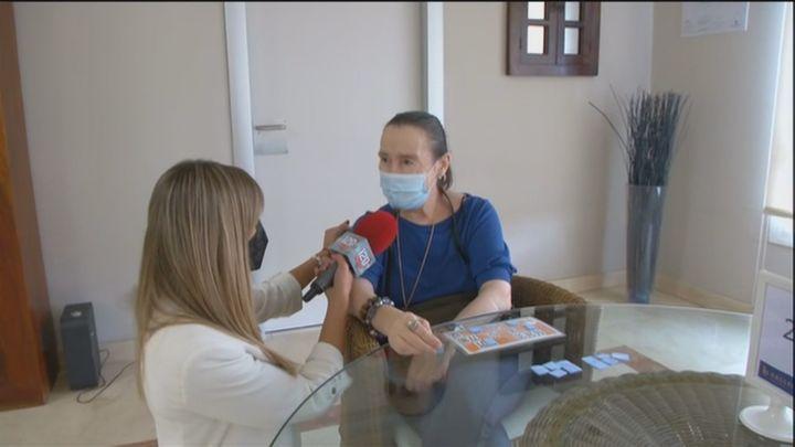 Residencias de mayores de Madrid organizan bingos solidarios para ayudar a los afectados del volcán de La Palma