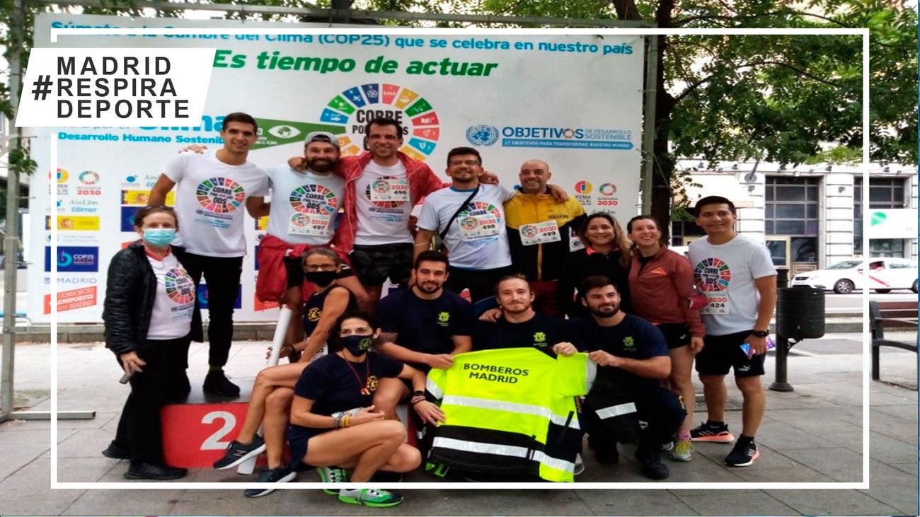 Madrid corre para concienciar sobre los Objetivos de Desarrollo Sostenible