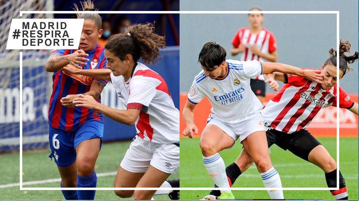 Real Madrid y Rayo Vallecano alargan sus crisis en la liga femenina
