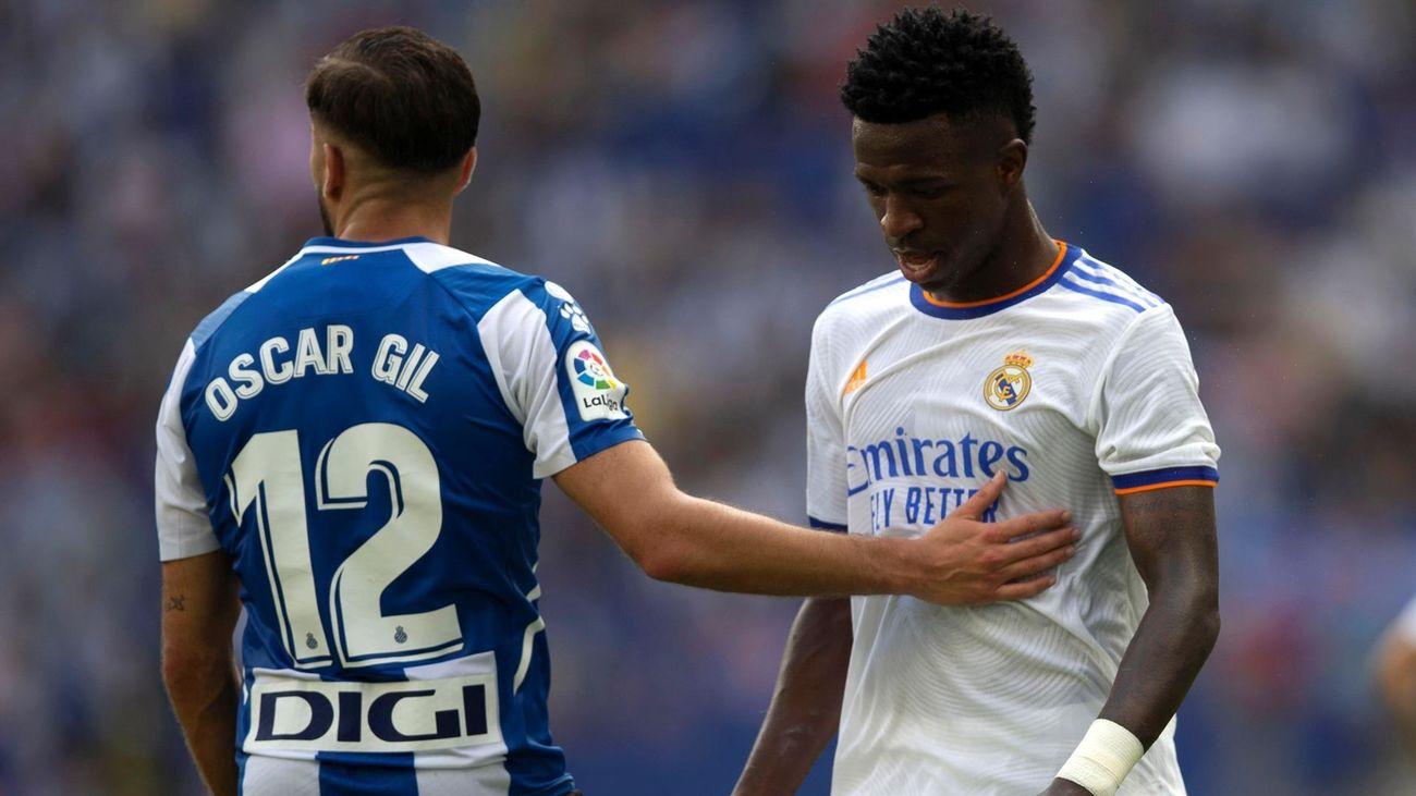 2-1. Un Real Madrid vulgar pierde con el Espanyol