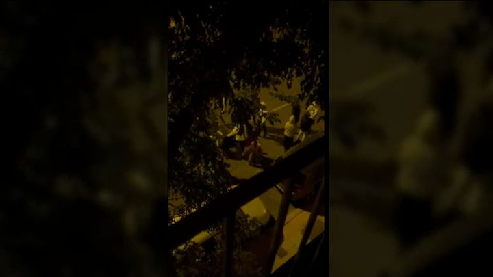 Tres heridos por arma blanca tras el desalojo  de un botellón multitudinario en el Parque del Oeste