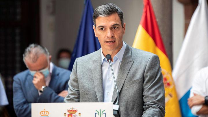 Sánchez anuncia 200 millones en ayudas para afectados del volcán de La Palma