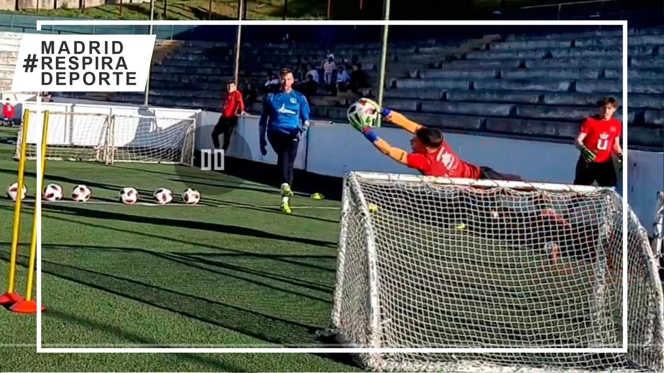 El Atlético de Madrid retoma su Escuela de Tecnificación en Móstoles