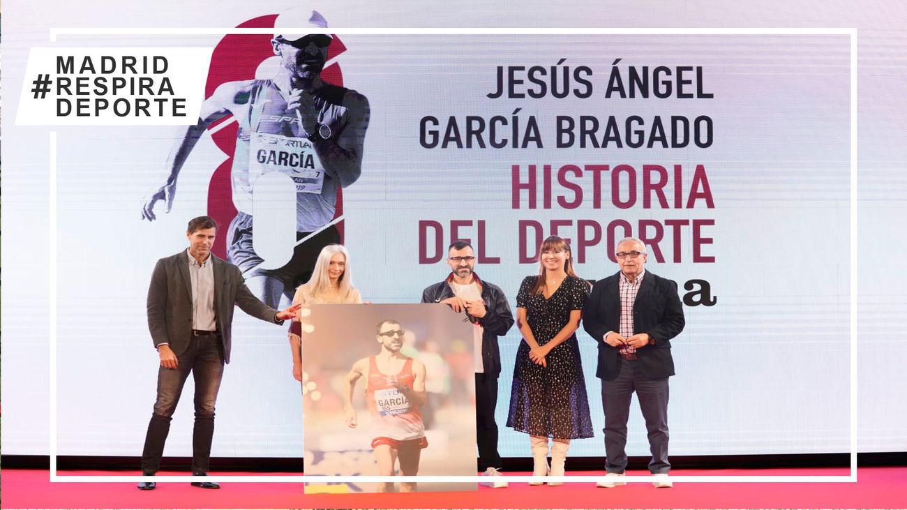 """García Bragado cierra una carrera de récord: """"Estoy eternamente agradecido al deporte"""""""