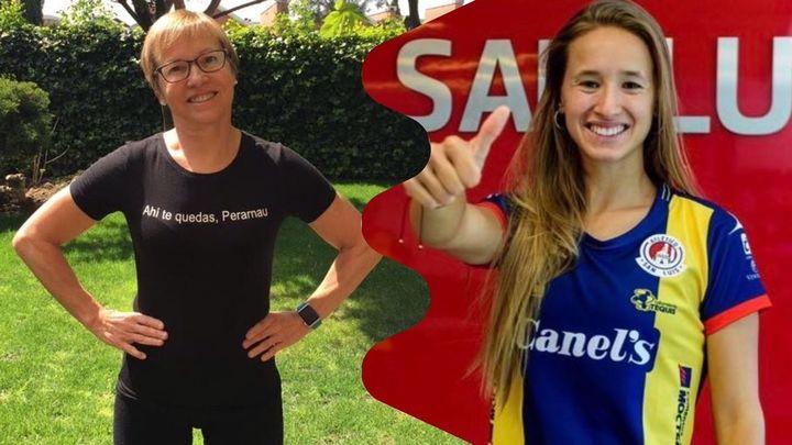 Loles Vives y Marta Perarnau, familia de deportistas