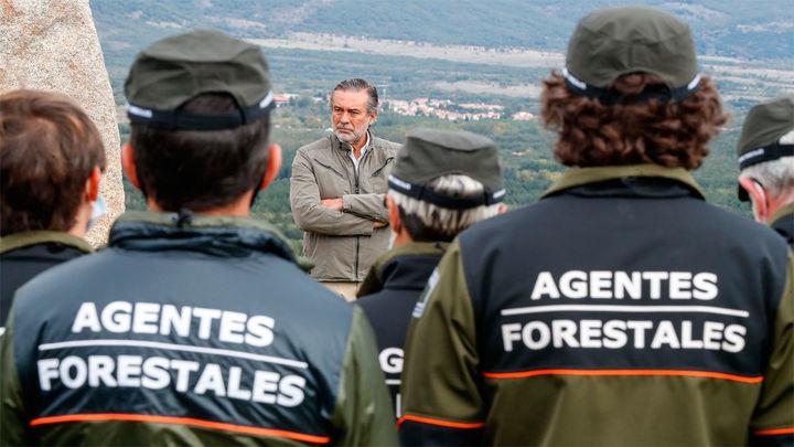 La Comunidad de Madrid agradece su labor a los agentesforestales