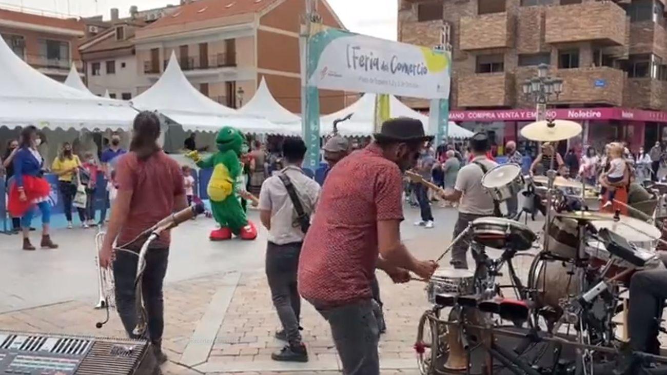 Más de 5.200 personas asisten a la primera Feria del Comercio de Fuenlabrada