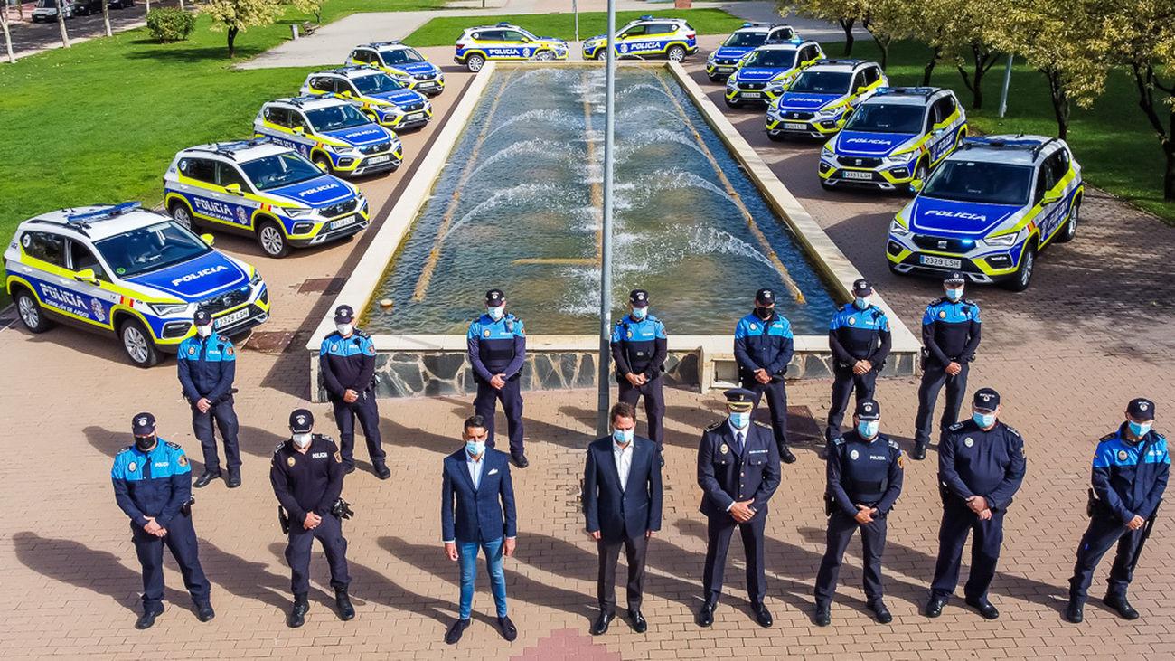 La Policía Local de Torrejón incorpora 14 nuevos vehículos con las últimas tecnologías