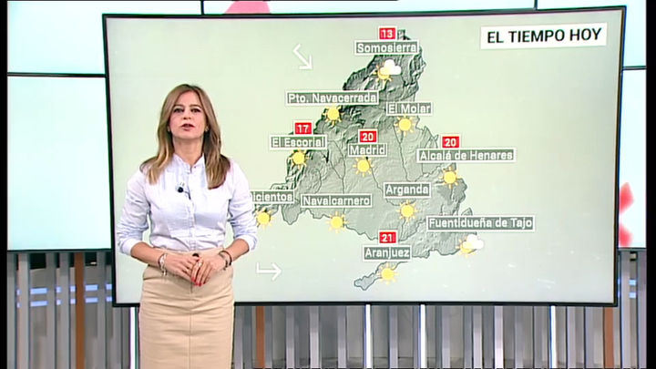 Bajan las temperaturas en Madrid, con temperaturas mínimas por debajo de los 10º