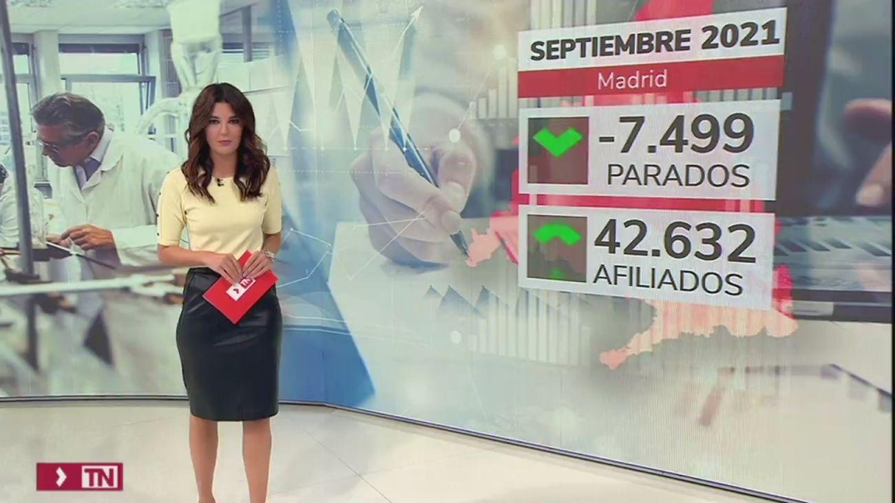 La Comunidad de Madrid destaca que tres de cada cuatro nuevos empleos se crean en la región