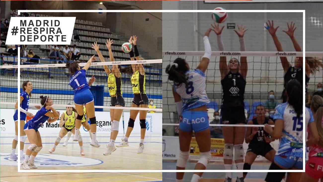 Alcobendas y Leganés abren la Superliga de voleibol femenino con derrotas